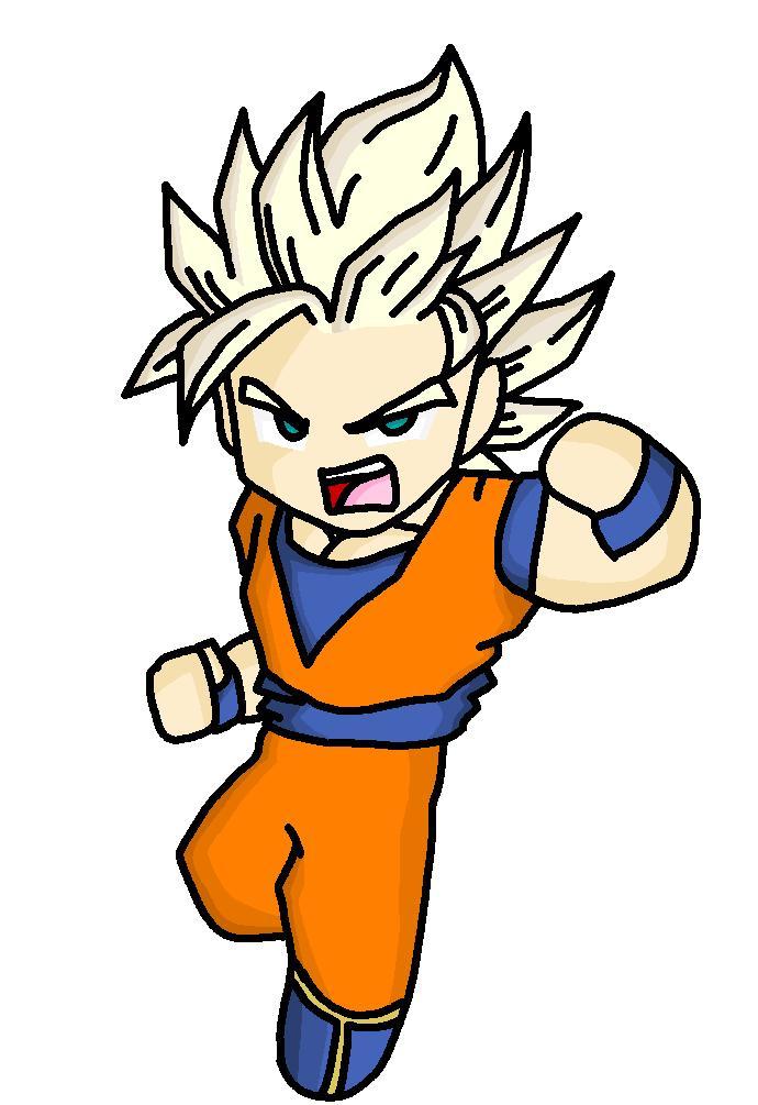 Super Saiyan 2 Goku by DBZGuy2010 on DeviantArt