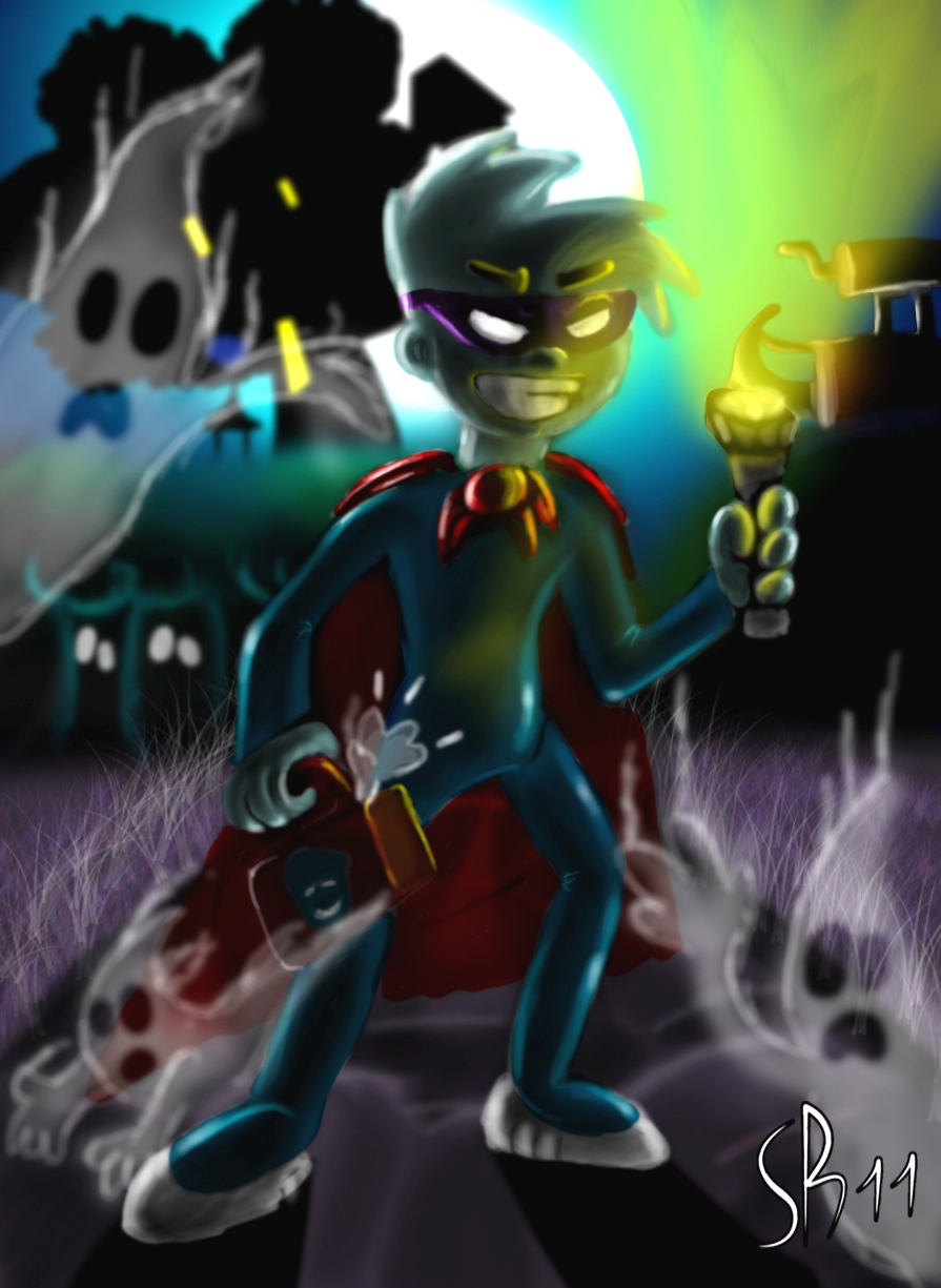 Halloween Picture : Pajama Sam by sara1996