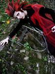 Axel in Halloween Town