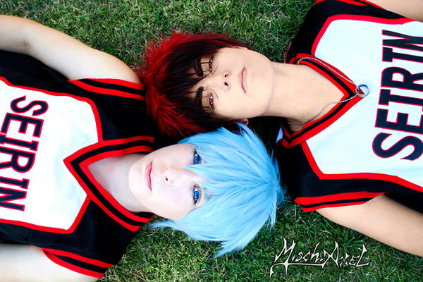 Kuroko no Basket : Taiga and Kuroko by MischievousBoyAilime
