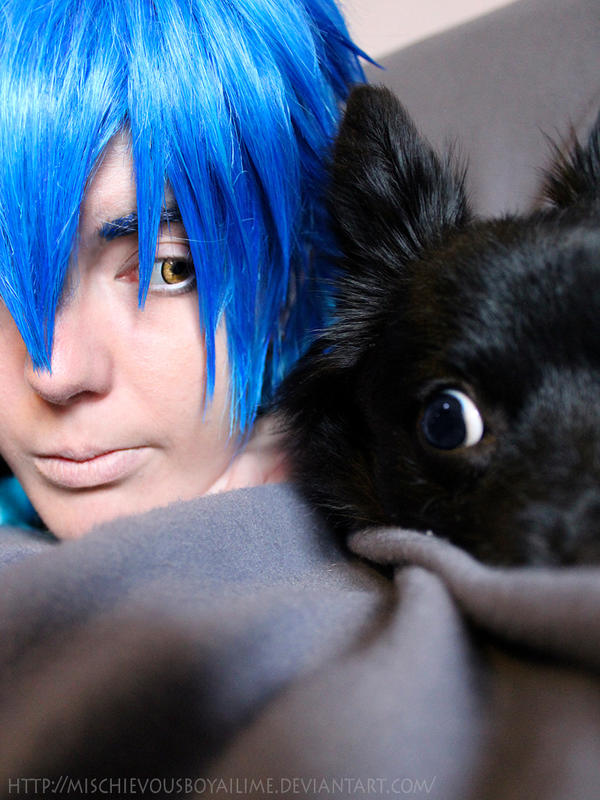Ren and Aoba - DRAMAtical Murder cosplay by MischievousBoyAilime
