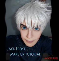 Jack Frost - Rise of the guardians - make up by MischAxel