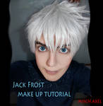 Jack Frost - Rise of the guardians - make up