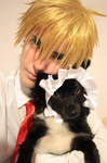 Usui Takumi and Misa-chan - Kaichou wa maid sama by MischAxel