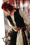 Axel Pirate ofThe Caribbean cosplay Kingdom Hearts