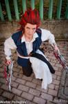 Axel Pirate ofThe Caribbean Kingdom Hearts cosplay