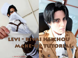 Levi Heichou Rivai : Video Tutorial - makeup by MischAxel