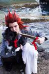 Stop! or I'll shoot - Axel Kingdom Hearts cosplay