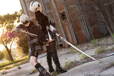 2B 9S Nier Automata by MischAxel
