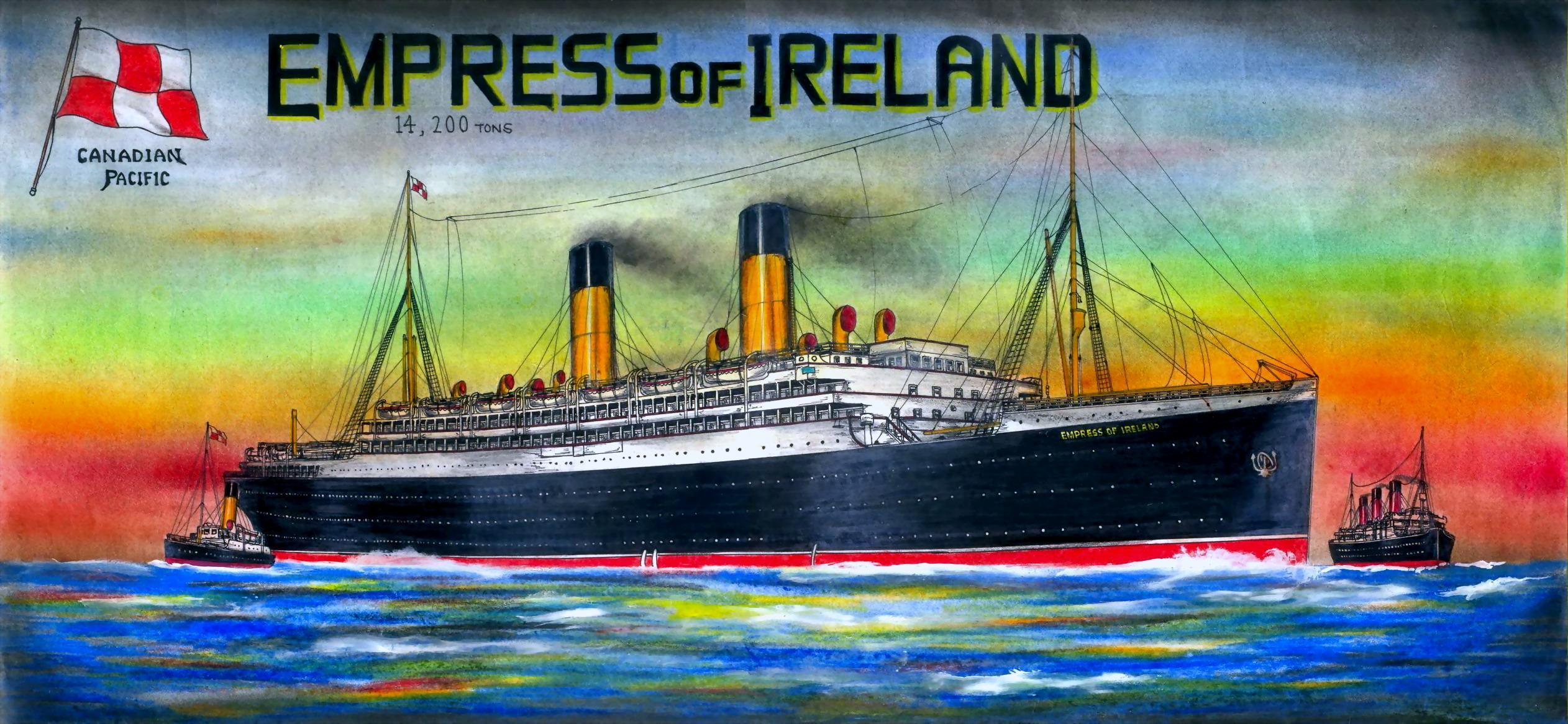 minecraft projet R_M_S__Empress_of_Ireland_by_Scottvisnjic