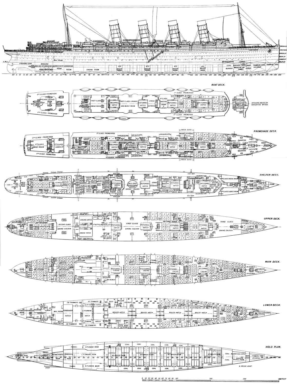 Deck Plan of Lusitania by Scottvisnjic on DeviantArt