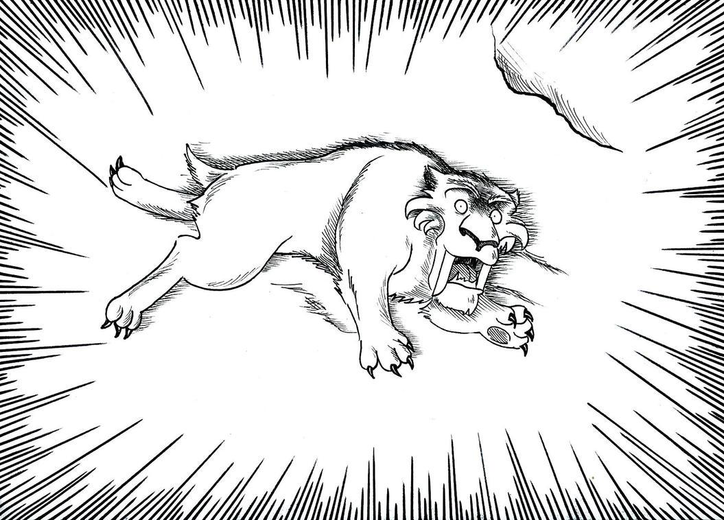 Smilodon Face By Pyroraptor42 On Deviantart: Smilodon The Novel 31-2 By Scottvisnjic On DeviantArt