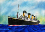 RMS Britannic Postcard Style