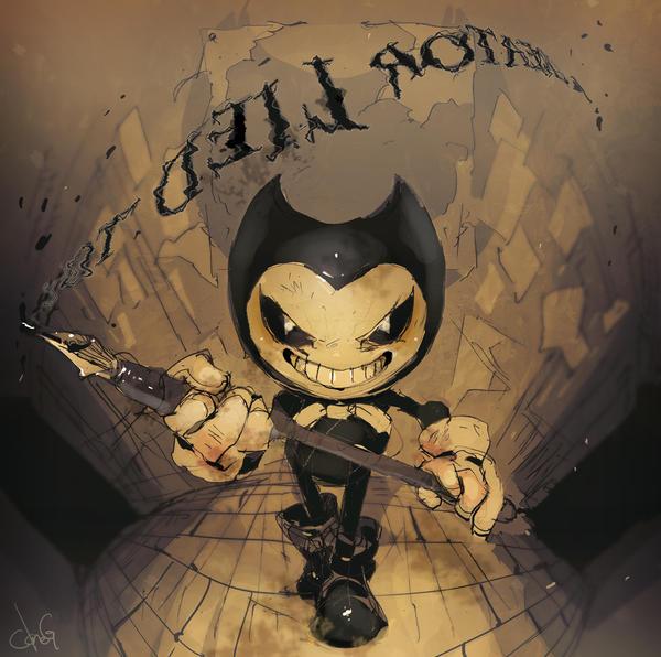 Little Ink Demon by cloneG