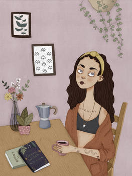 Witch At Her Table