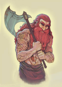 Hibbary's Gimli (Coloured)