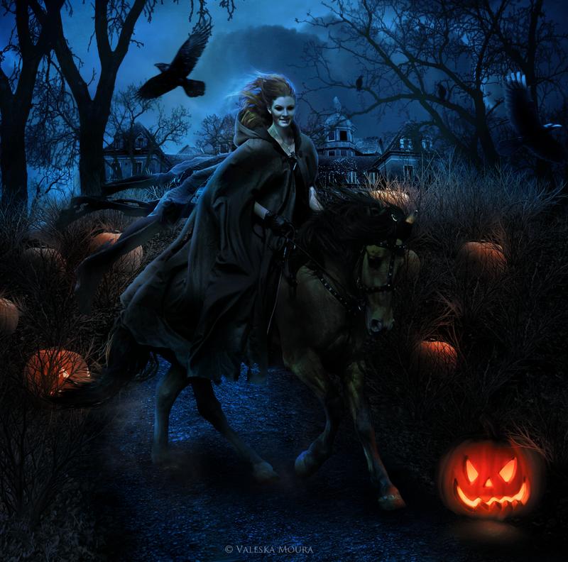 Halloween Night by valeskamoura on DeviantArt