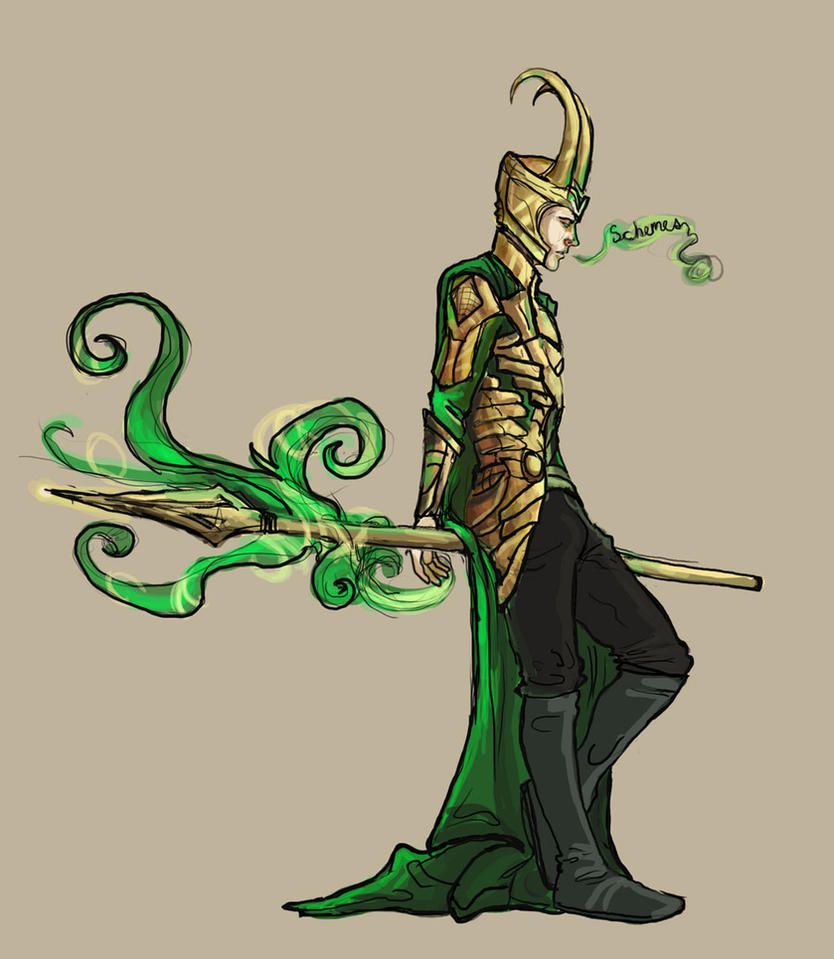 Loki Again By Pronkbaggins On Deviantart