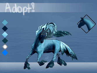 Equine Adopt - Oceanic Beta- SOLD by Fluff-Off