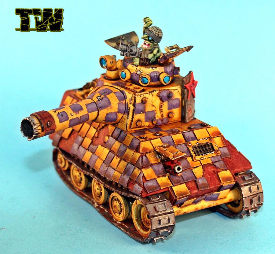 new scratch Grot tanks by billking