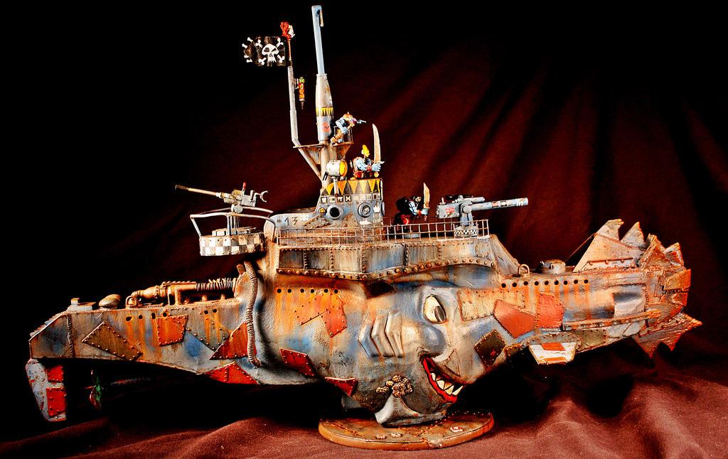 Ork submarine /2 by billking