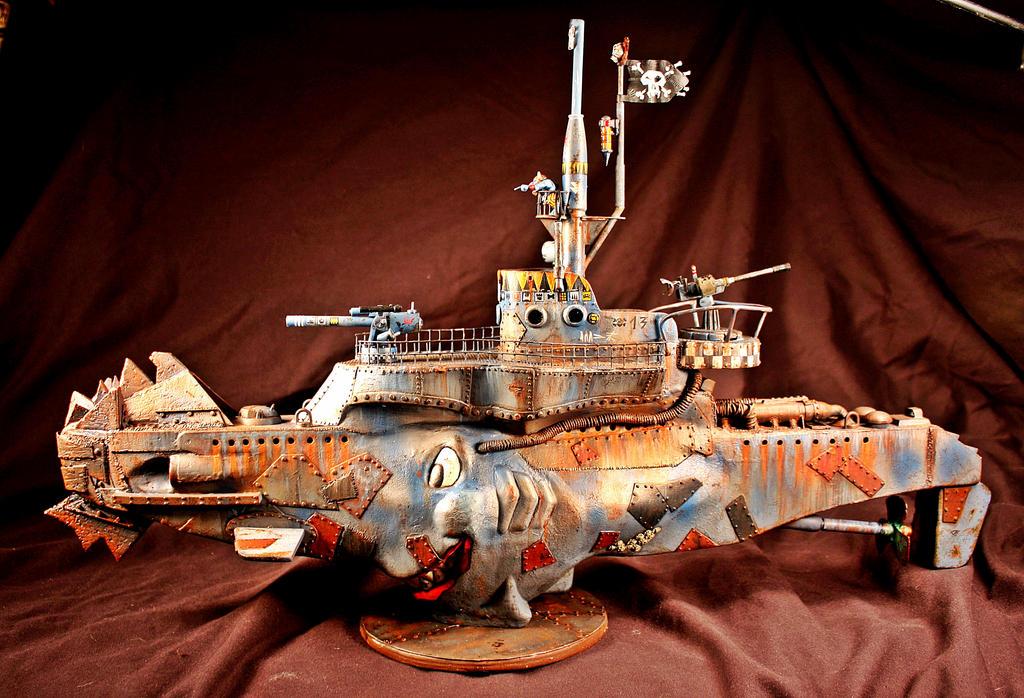 Ork submarine by billking