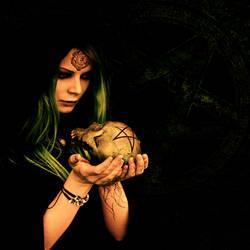 Black magic woman by indigodeep