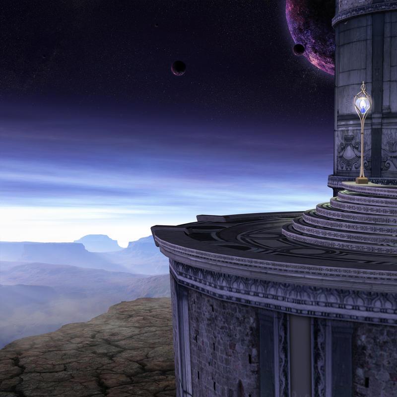 premade fantasy background by indigodeep