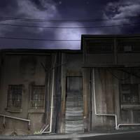 A dark street 2 by indigodeep