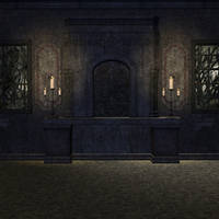 Spooky room by indigodeep