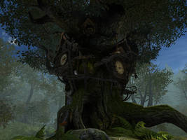 Fantasy forest background 4 by indigodeep