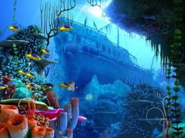 coral reef 2 by indigodeep