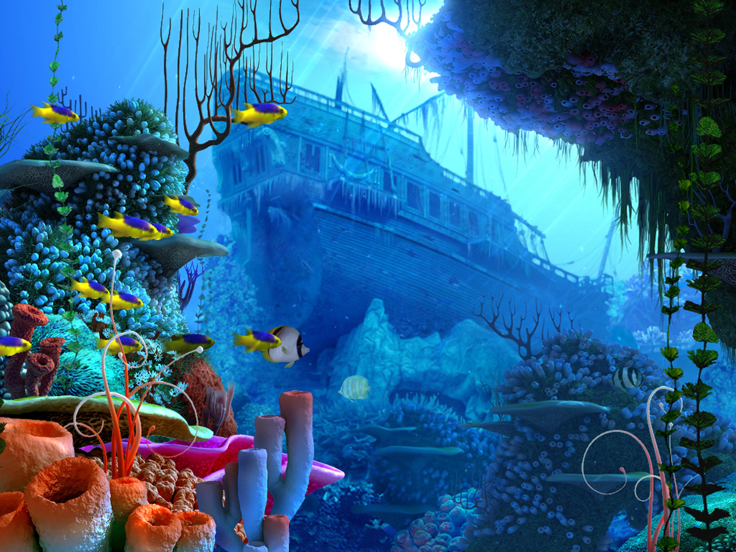 Vollversion Coral Reef Aquarium D Screensaver  Screensaver