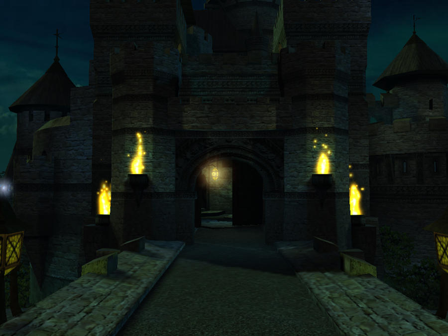 Fantasy castle background 9 by indigodeep