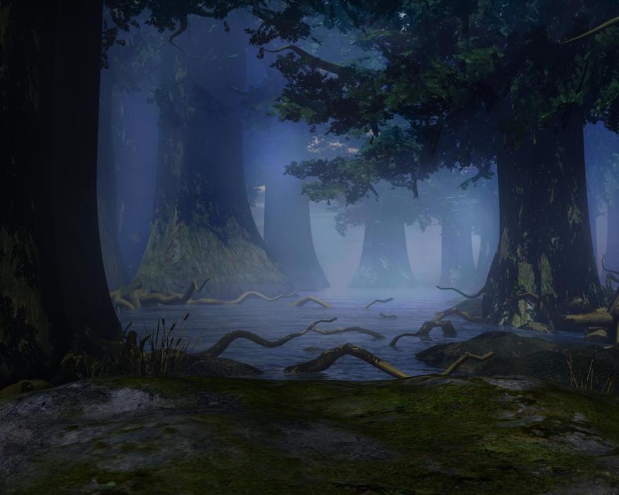 Swamp background by indigodeep on DeviantArt: indigodeep.deviantart.com/art/Swamp-background-148605538