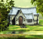 chapel background summer