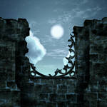 Moon ruin