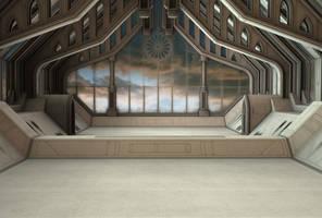spaceship background 3 by indigodeep