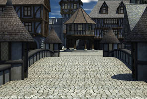 Medieval Village 1 by indigodeep
