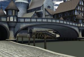 Medieval village 5 by indigodeep