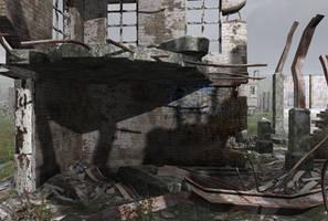 City ruins 5 by indigodeep