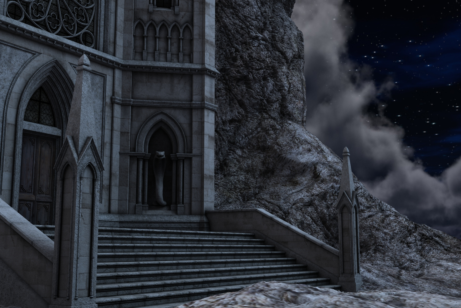 Gothic Castle 2 By Indigodeep