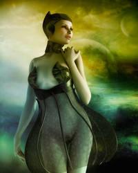 Alien Girl by indigodeep
