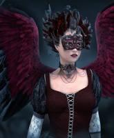 Masked Beauty by indigodeep