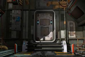 Future door by indigodeep