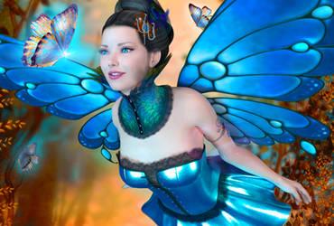 Fae Queen by indigodeep