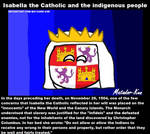 Isabella the Catholic and the indigenous people