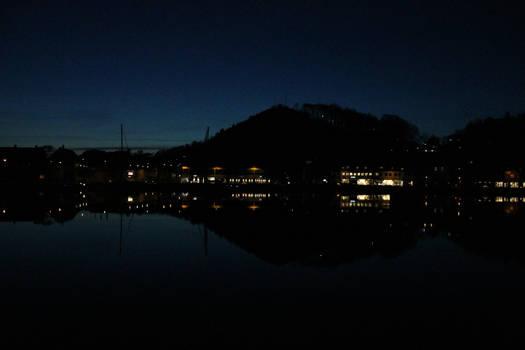 Mandal at night