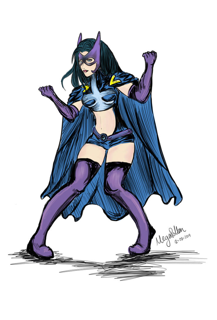 Huntress - from Batman  by MegaPollen