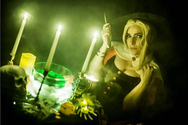 Overwatch - Witch Mercy
